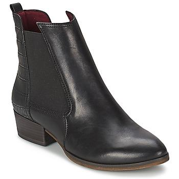 Boty Ženy Kotníkové boty Tamaris DANA Černá