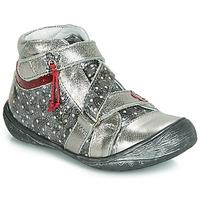 Boty Dívčí Kotníkové boty GBB NADETTE Stříbrná