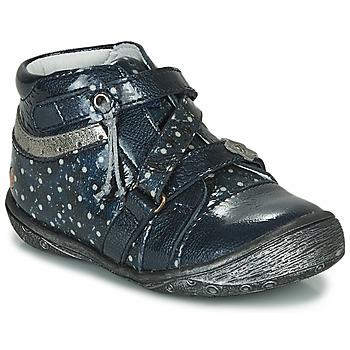 Boty Dívčí Kotníkové boty GBB NADETTE Tmavě modrá