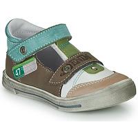 Boty Chlapecké Sandály GBB PEPINO Hnědá / Béžová / Zelená