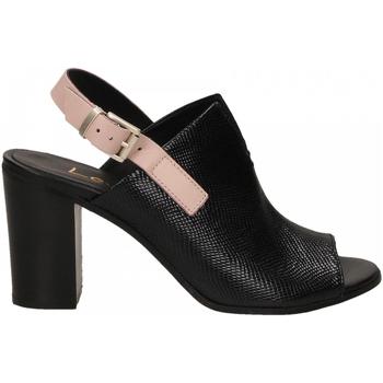 Boty Ženy Sandály Lemaré FIESOLE nero-rosa-3390