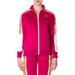 Textil Ženy Mikiny Kappa BANDA 10 ANAY 906-rosso-bianco