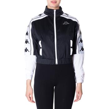 Textil Ženy Mikiny Kappa BANDA 10 ANTEY 903-nero-bianco