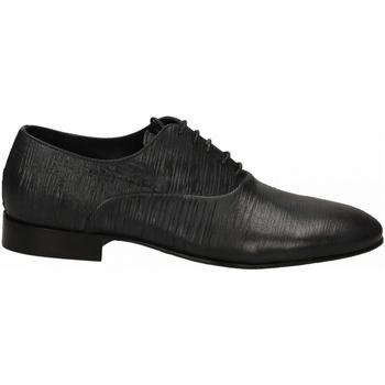 Boty Muži Šněrovací společenská obuv Eveet PANAREA BLU blu
