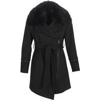 Textil Ženy Kabáty Moony Mood LITEA Černá