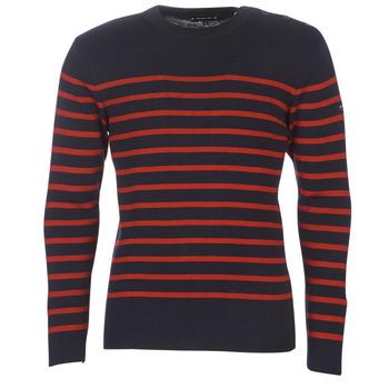 Textil Muži Svetry Armor Lux LEOPOLD Tmavě modrá / Červená