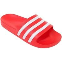 Boty Muži pantofle adidas Originals Adilette Aqua Červené