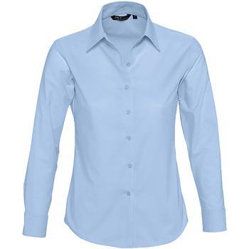 Textil Ženy Košile / Halenky Sols EMBASSY OXFORD GIRL Azul