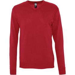 Textil Muži Svetry Sols GALAXY SWEATER MEN Rojo