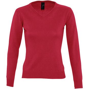Textil Ženy Svetry Sols GALAXY SWEATER WOMEN Rojo