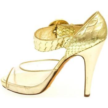 Boty Ženy Lodičky John-C Dámske zlaté sandále HELY zlatá