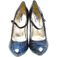Boty Ženy Lodičky John-C Dámske modré lodičky HELLY modrá