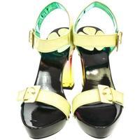 Boty Ženy Sandály John-C Dámske zelené sandále TROI svetlozelená