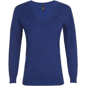 Textil Ženy Svetry Sols GLORY SWEATER WOMEN Azul