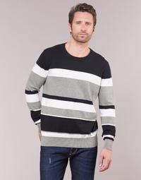 Textil Muži Svetry Casual Attitude LORISS Černá / Šedá