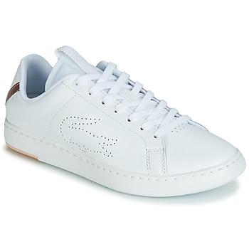 Boty Ženy Nízké tenisky Lacoste CARNABY EVO LIGHT-WT 119 3 Bílá / Růžová