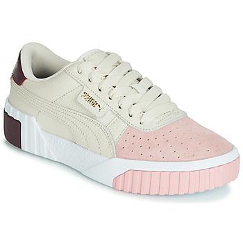 Boty Ženy Nízké tenisky Puma CALI REMIX Bílá / Růžová