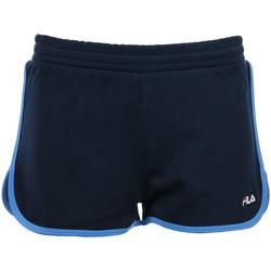 Textil Ženy Kraťasy / Bermudy Fila Wn's Paige Jersey Shorts Modrá