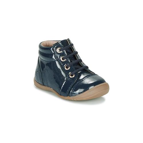 Boty Dívčí Kotníkové boty Citrouille et Compagnie NICOLE.C Tmavě modrá / Třpytivá