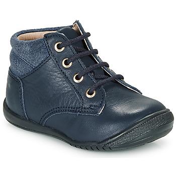 Boty Chlapecké Kotníkové boty Citrouille et Compagnie RATON.C Tmavě modrá
