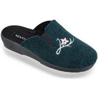 Boty Ženy Papuče Mjartan Dámske papuče  IGLIKA 2 tmavozelená