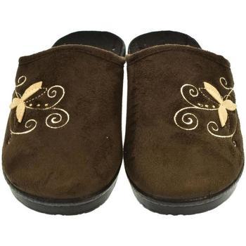 Boty Ženy Papuče Mjartan Dámske papuče  CAMILIE 5 hnedá