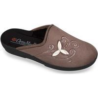 Boty Ženy Papuče Mjartan Dámske papuče  CHERISE 4 hnedá