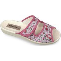 Boty Ženy Dřeváky Mjartan Dámske papuče  MARINA ružová