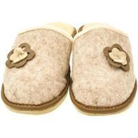 Boty Ženy Papuče John-C Dámske béžové papuče 2FLOWERS béžová