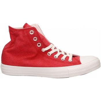 Boty Kotníkové tenisky Converse CTAS HI red-white-white