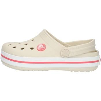 Boty Děti Pantofle Crocs 204537 Béžová