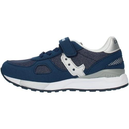 Boty Dívčí Nízké tenisky Canguro C60216H Modrá