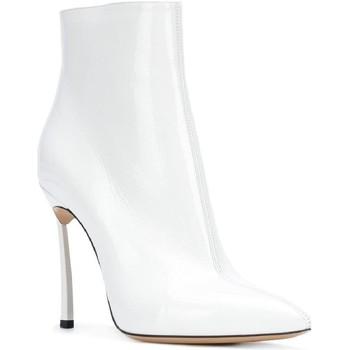 Boty Ženy Kotníkové boty Casadei 1Q618L100TRAIN900 bianco