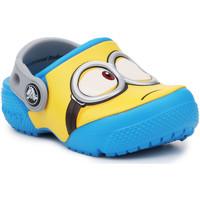 Boty Děti Pantofle Crocs Crocsfunlab Minions Clog 204113-456 yellow, blue
