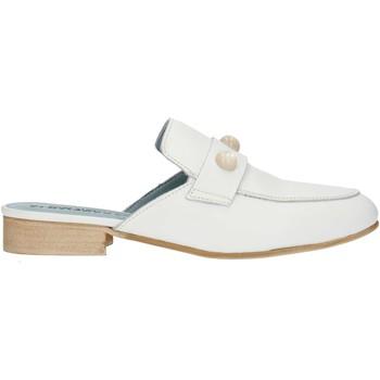 Boty Ženy Pantofle Albachiara NC74 Bílá