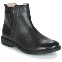 Boty Dívčí Kotníkové boty Acebo's 9671-NEGRO-T Černá