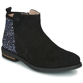 Boty Dívčí Kotníkové boty Acebo's 8035-NEGRO Černá