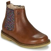 Boty Dívčí Kotníkové boty Acebo's 5274-CUERO Hnědá