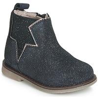 Boty Dívčí Kotníkové boty Acebo's MAKALU Modrá