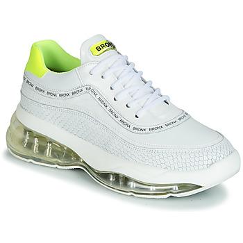 Boty Ženy Nízké tenisky Bronx BUBBLY Bílá / Žlutá