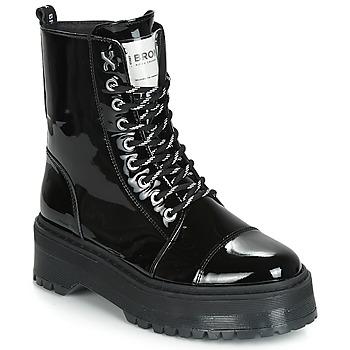 Boty Ženy Kotníkové boty Bronx RIFKA SUPER CHUNKY Černá