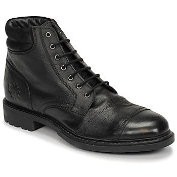 Boty Muži Kotníkové boty Base London REPTON Černá