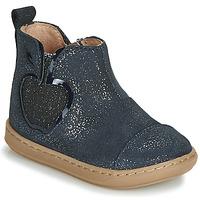 Boty Dívčí Kotníkové boty Shoo Pom BOUBA NEW APPLE Tmavě modrá