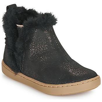 Boty Dívčí Kotníkové boty Shoo Pom PLAY YETI Černá