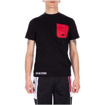 Textil Muži Trička s krátkým rukávem Kappa AUTHENTIC BAIAS 902-black-red-white