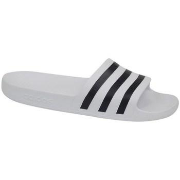Boty Muži pantofle adidas Originals Adilette Aqua Bílé