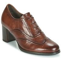 Boty Ženy Šněrovací společenská obuv Gabor 3524122 Hnědá