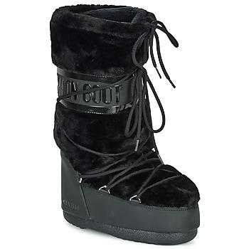 Boty Ženy Zimní boty Moon Boot MOON BOOT CLASSIC FAUX FUR Černá