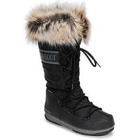 Boty Ženy Zimní boty Moon Boot MOON BOOT MONACO WP 2 Černá
