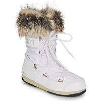 Boty Ženy Zimní boty Moon Boot MOON BOOT MONACO LOW WP 2 Bílá